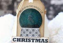 étiquettes hiver-Noël