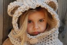 chrochet scarves&hats