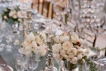 Vintage Wedding ideas / From winter, spring, summer to fall, create a perfect event to follow a theme. Maybe you are planning a casual event at the beach, a vintage themed event at a historic monument or an outdoor BBQ under the starlit sky. Inspiration can come from anything!