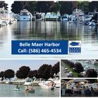 "Belle Maer Photo Gallery / Belle Maer Harbor - More than just a place to store your boat - it's a home away from home for your ""Floating Cottage,"" with easy access to the Anchor Bay end of the open waters of Lake St. Clair.  Over 800 Boat Wells and 60 acres of true beauty."