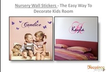 Nursery Wall Stickers /  Wall decals for kids rooms are a terrific and simple means to improve any area in just a matter of minutes. You could locate peel and stick wall surface decals in pretty much any kind of type you desire. Every little thing from strawberry shortcake to frightening monsters or fun circles to blossoms and plants is readily available in a decal. / by Vinyl Wall Decals