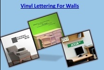 Wall Letters /  Use of Vinyl Lettering For Walls to develop a decorative floor tile that makes a great gift for every home. A decoration which youngsters may enjoy to see with Wall Letters.Visit our site http://decaleco.com/product-category/wall-decals-quotes/ for more information on Vinyl Lettering For Walls / by Vinyl Wall Decals