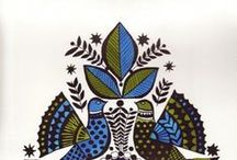 Scandi folk art