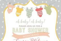 Baby Shower Invitations / Exclusively at Paper+More