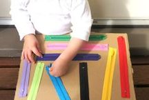 Fine Motor Skills / Activities to help young children in developing fine motor skills.