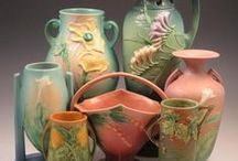 Throwing Pots / Amazing art pottery - vintage and new.  Quirky, colorful and beautiful.  Van Briggle holds my heart - but all pottery catches my eye with longing.         / by Nancy Cowan
