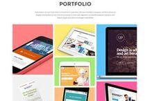 Inspiration Webdesign / The best creative WordPress Themes I found goes here.