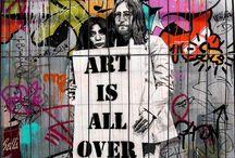 Graffitti & street Art / by Cathy