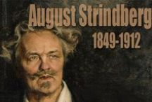 AUGUST STRINDBERG / Strindberg lived a wandering life outside Sweden the years 1883-99 in the countries of France, Switzerland, Germany, Denmark and Austria.