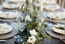 Neutral Tablescapes / Rustic, fresh and full of magic. That's the kind of table we gather around.