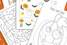 Holiday: Halloween / Educational activities and crafts for kids to do around Halloween.