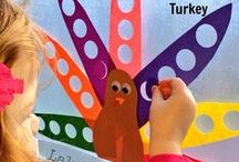 Holiday: Thanksgiving / Educational activities and crafts for kids to celebrate Thanksgiving