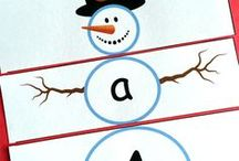 Season: Winter / Educational activities and crafts for kids to do in the Winter.