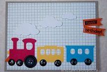 Autó, vonat, házikó