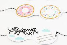 Invitations / Party invitation madness. DIY + to buy.