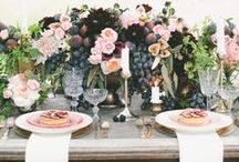 Pink Tablescapes / Sweet + lovely. That's the kind of table we gather around.