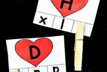 Holiday: Valentine's Day / Educational activities and crafts for kids to celebrate Valentine's Day.