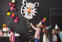 Kids Parties / Bright, playful + full of laughter. Because cool kids deserve cool parties.