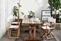 Al Fresco Dining / In the cool air.