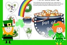 Holiday: St. Patrick's Day / Educational activities and crafts for kids to celebrate St. Patrick's Day.
