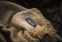 we love natural wool / hand spun and woven on traditional loom, natural colors or dyed with organic elements