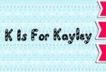 Ki is For Kayley (blog) / This board is mainly pictures from my bLoG (http://kisforkayley.blogspot.com.au/) and things such as graphics designs and logos! enjoy!!