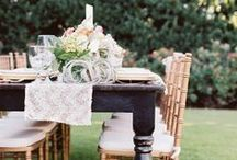 Southern Orchard Styled Shoot / A charming orchard theme styled shoot with bright colors in peach, fuschia, blush and gold. Styling & Paper Pieces: Paper+More, Photos: Amanda Watson Photography, Floral: Poppy Lane Design, Venue & Catering: Coles Garden, Rentals: Mood Party Rentals