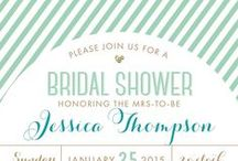 Wedding Shower Invitations / Exclusively at Paper+More
