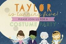 Birthday Invitations / Exclusively at Paper+More