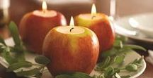 Rosh Hashanah Tablesettings / Inspiration to set the table for the High Holidays