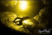 Underwater portrait photo. / Underwater photography. Fotky pod vodou, které jsem fotil já.