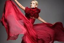 RUBIES, EMERALDS AND DIAMONDS / AW14 trend bold colour dresses