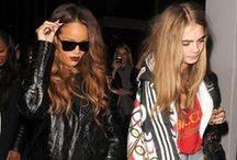 Cara and Rihanna <3 / Cara Jocelyn Delevingne and Robyn Rihanna Fenty <3