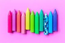 arrangements / colorful minimalist shots of arranged objects / by matt crump