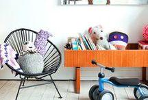 Kids Room / Nursery, bedrooms, cool ways to decorate for little ones.