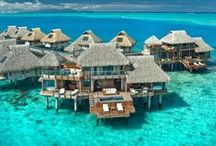 """Dream Destinations / There are so many places we want to go! These are just a few places I am putting on my """"Travel To ..."""" List.  How about you? / by DWB Vacations LLC"""