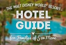 Disney World Resort Hotels / Disney's Resort Hotels are a destination themselves! / by DWB Vacations LLC