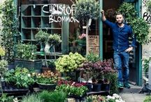Green Fingers | Dream Florist / Ideas and inspiration for a little florist shop I dream of owning.