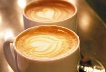 I love coffee / What would life be without espresso, cappuccino, latte macchiato, cortado, drip filter or iced coffee? Coffee, can't live without it! / by Liesbeth ten Donkelaar