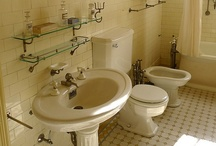 Bathrooms: Vintage & Antique Plumbing / Inspiration & Source Material for bathroom remodel / by Becky Alice