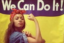 Feminism / Because there ain't nothing better than being female