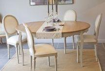 | SALLE A MANGER | / Des suggestions de meubles rien que pour vous pour créer une salle à manger à votre image !