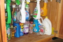 Cleaning & organizing / by a m y h o u l t o n