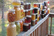 canning drying preserving / Putting it by for health and joy and satisfaction