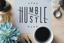 Inspiration | Typography / Some Words of Wisdom to Inspire