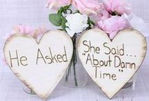 Signs / here are some signs for a range of occasions but especially weddings from ceremony to reception