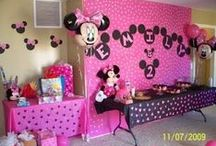 Disney Themed Parties / Do your children love Mickey Mouse?  Frozen? What Is More Fun Than A Walt Disney Themed Party? (They Are Not Just For Kids!) / by DWB Vacations LLC