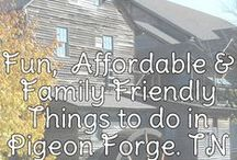 Pigeon Forge, TN / A Perfect Vacation Spot in the Great Smoky Mountains! / by DWB Vacations LLC