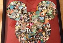 Disney Trading Pins Displays / Great Ideas For Displaying Your Disney Pins. / by DWB Vacations LLC