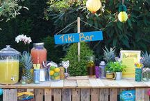 Celebrate | Tiki Party / Hawaiian and Polynesian themed tropical Tiki party.